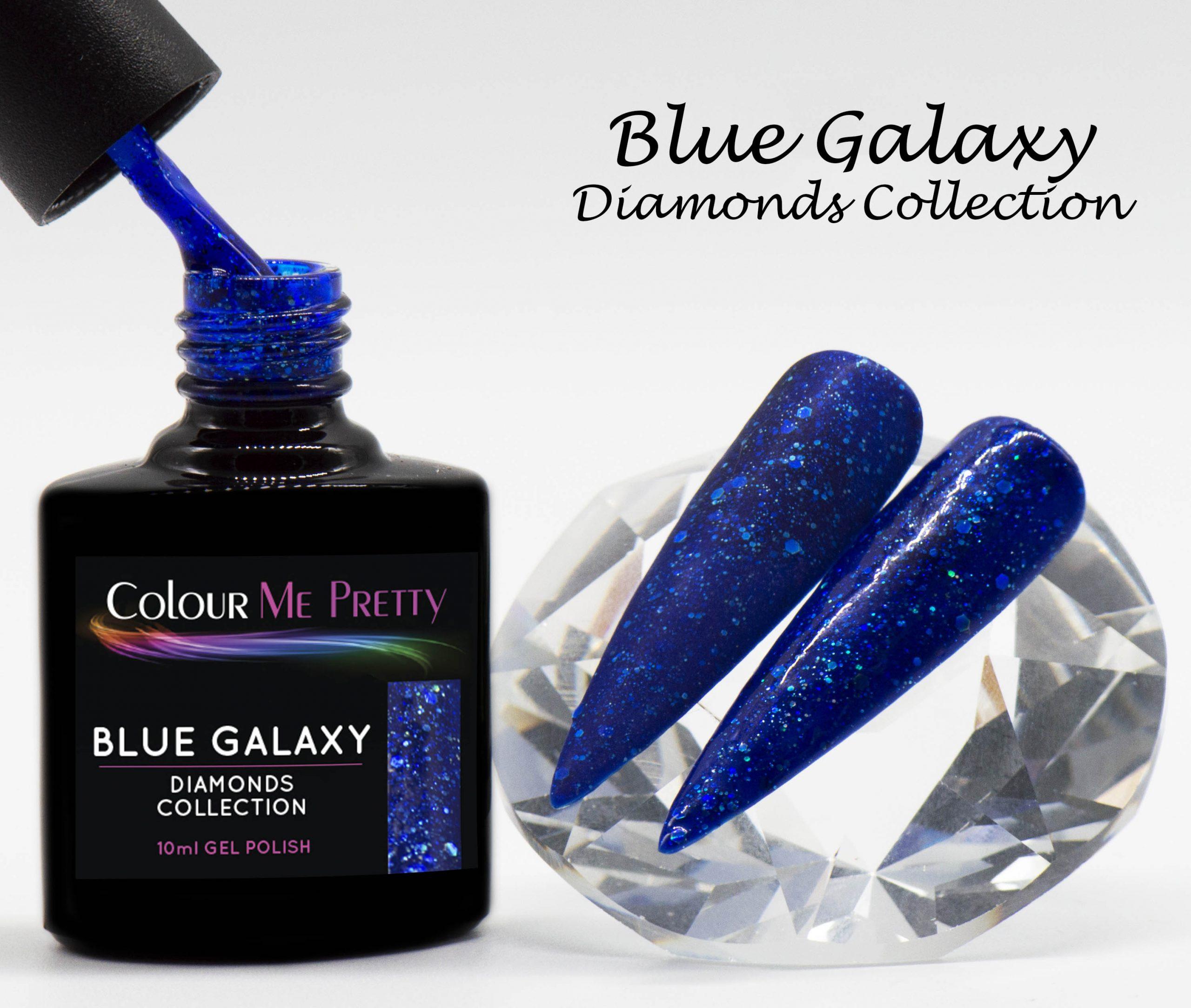 Diamonds Blue Galaxy