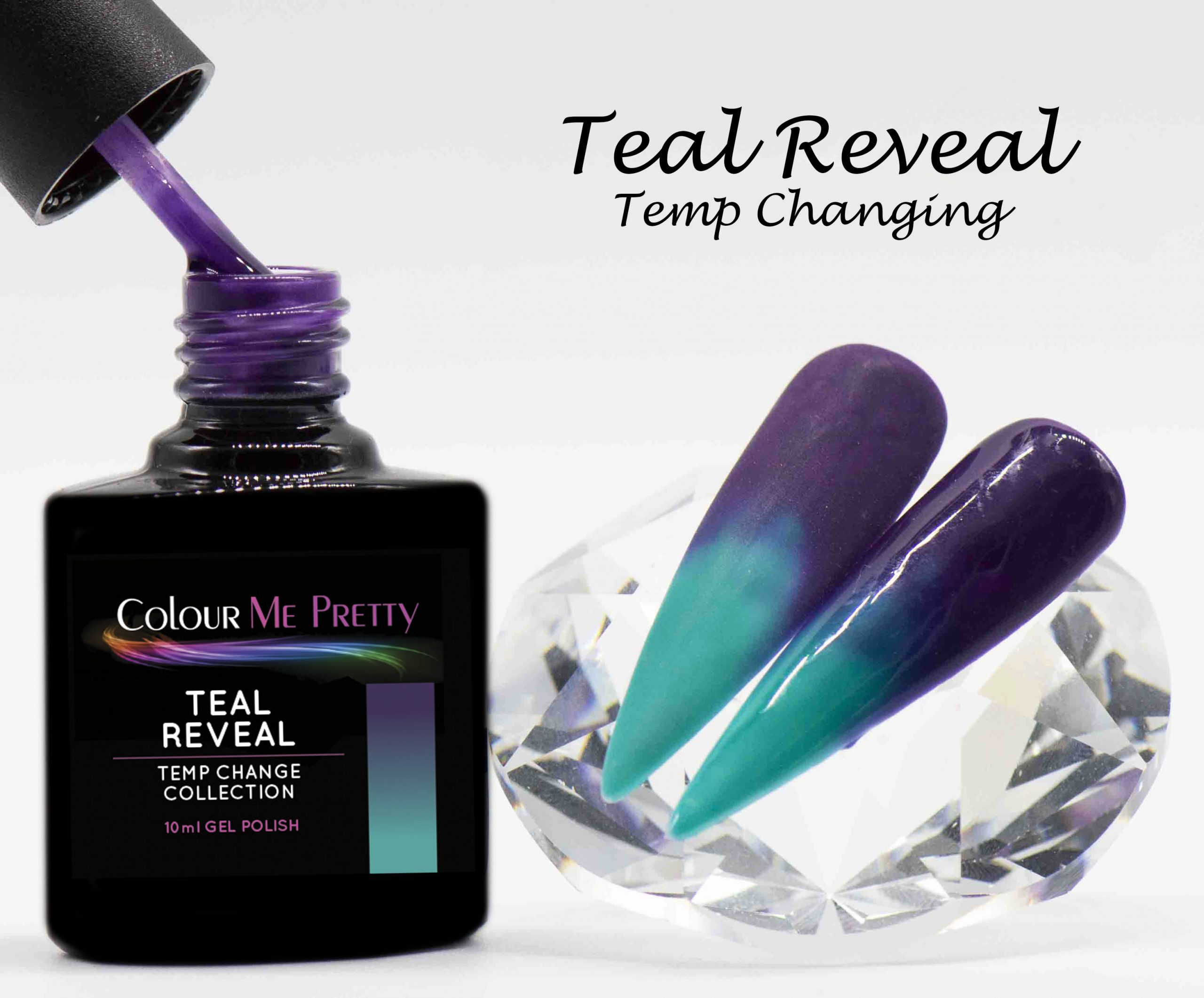 Temp Change Teal Reveal